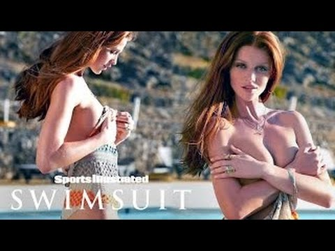 Cintia Dicker Gets Sprayed By The Pool In Portugal | Sports Illustrated Swimsuit