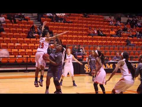 Islanders Women's Basketball SHSU Postgame