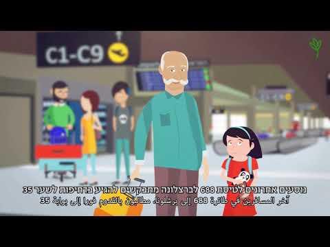 """חוק הלאום, מאחורייך: """"כמעט אין בנתב""""ג שילוט בערבית"""""""