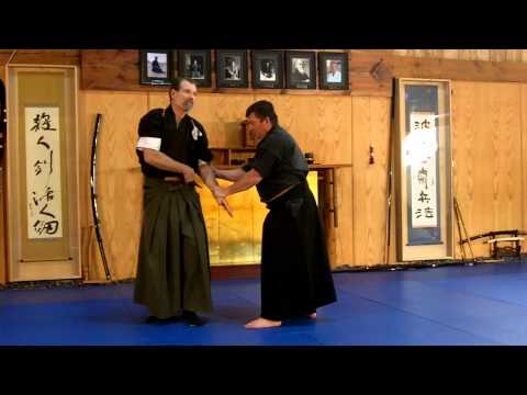 Samurai Iaijutsu direct application to Jujutsu James Williams sensei Nami ryu