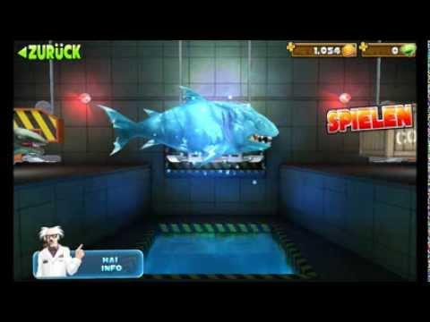 Hungry Shark Evolution -All Sharks + Secret Sharks- (видео)