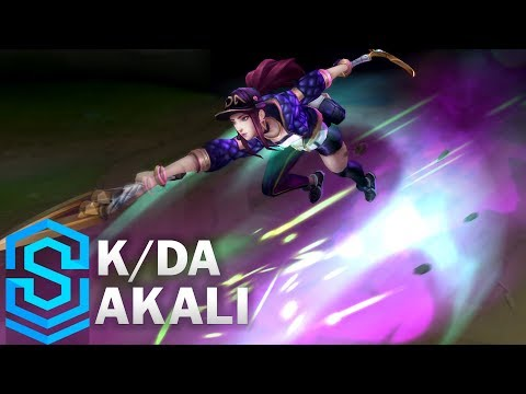 Akali Thần Tượng Âm Nhạc - K/DA Akali