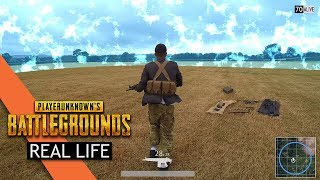 """Player Unknown Battlegrounds PUBG, We've been filming this epic PUBG in Real Life video over the past month. We've taken the best Player Unknown Battlegrounds  elements to make the PUBG world come to life, from Looting to Survival I hope you enjoy this Player Unknown Battlegroundsin Real Life video.🔴Instagram http://instagram.com/truemobster🔴 FaceBook https://www.facebook.com/TrueMobster🔴 Twitter https://twitter.com/#!/truemobsterHuge thanks to everyone involved in making this possible Starring BeBe Vhttps://www.youtube.com/watch?v=0zhanrZPNN4Team- Jacob, Brandon, Stephen, Lord, BeBe, Charlie, Reece, Harry, Malik, Esmonde, Max BeBe Vhttps://www.youtube.com/watch?v=0zhanrZPNN4Thanks to zhiyun-tech for hooking us up with a Gimbal http://www.zhiyun-tech.comThanks to Sail Video System for hooking us up with a 3rd Person Righttps://www.sailvideosystem.comVisual Effects byhttp://www.big-vfx.com/#ref=15YouTube Fullscreen Partner Inspired by Player Unknown Battlegrounds PUBGMusic byAudioMicrohttps://jinglepunks.com""""Music from Epidemic Sound (http://www.epidemicsound.com)""""Notify your local police before filming on the streets with replica weapons, The guns seen and used in this video are Airsoft guns."""