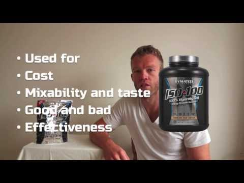 Review: Dymatize ISO-100 Protein Powder