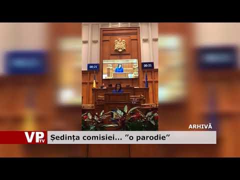 """Ședința comisiei… """"o parodie"""""""