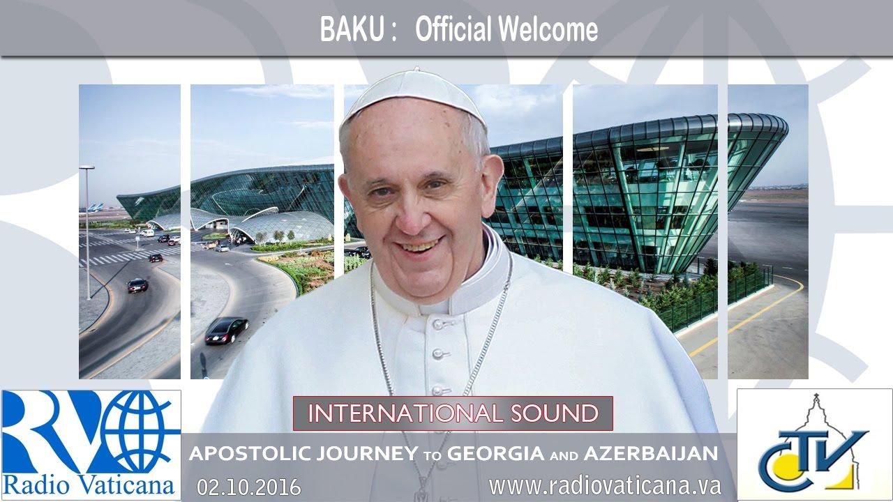 Ángelus del Papa Francisco en Azerbaiyán