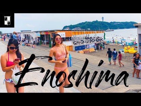 Enoshima, the Best Beach in Tokyo? (+H&M T-Shirts) (видео)