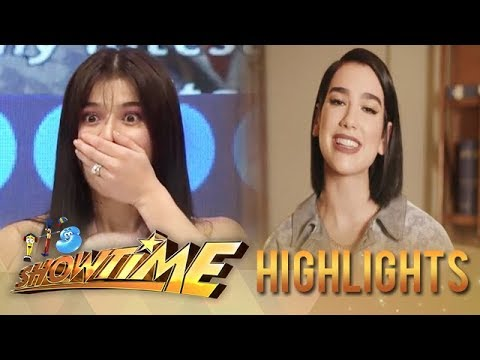 Birthday greetings - It's Showtime: Anne receives a surprise birthday greeting from Dua Lipa