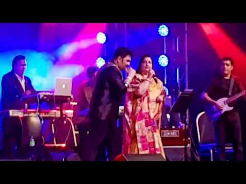 Video Kumar Sanu & Anuradha Paudwal | Live In Sydney 2018 | Main Duniya Bhula Doonga download in MP3, 3GP, MP4, WEBM, AVI, FLV January 2017