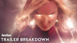 Captain Marvel | Official Teaser Trailer Breakdown in Hindi