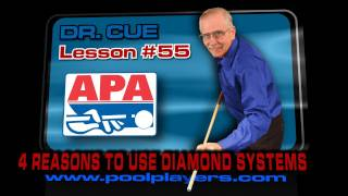 APA Dr Cue Lesson #55: Four Reasons For Using Diamond Systems!
