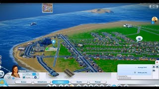 Simcity Beta 3 (Full Game Demo)  Trains And Casinos In Sandbox Mode