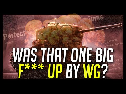 ► A BIG F*** UP by WG? - World of Tanks The End of Preferential Premium Tanks (видео)