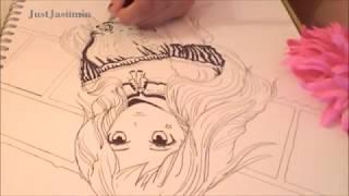 How to draw a Manga girl: Sateen ^_^