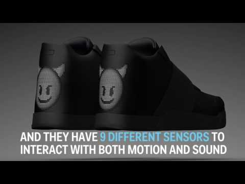 Smart Shoes: Vibrating Sneakers With Customizable LED Display Can Sync With Pokémon