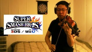KDJ's Awesome Rendition of the Smash 4 Theme on Violin
