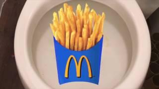 Learn Colors with me & Nursery Rhymes Songs - McDonalds Fries