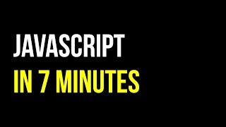 Learn JavaScript in 7 minutes | Create Interactive Websites | Code in 5