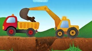 Tony the Truck & Construction Vehicles -  App for Kids: Diggers, Cranes, Bulldozer
