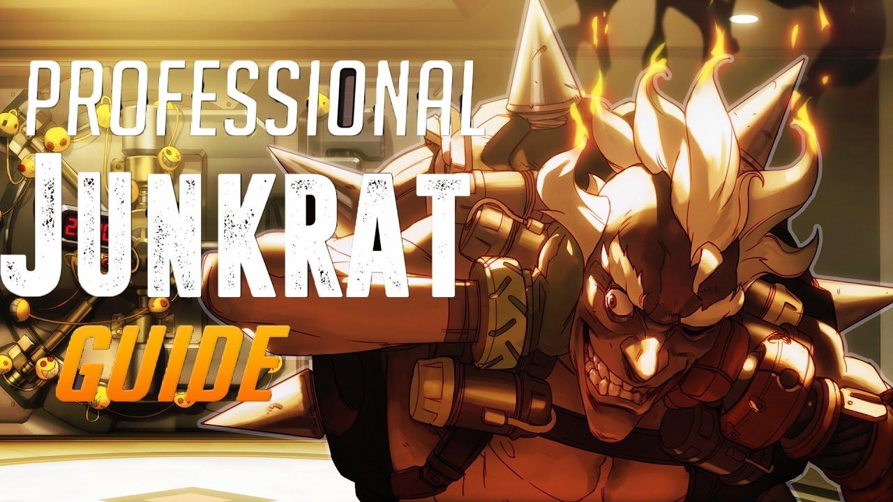 Overwatch Grandmasters Competitive | Junkrat/Lucio Main | Gold Border