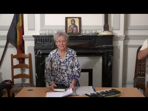 CDS Paris, 8 novembre 2018: Hélène Sejournet - Mémorisation de l'évangile