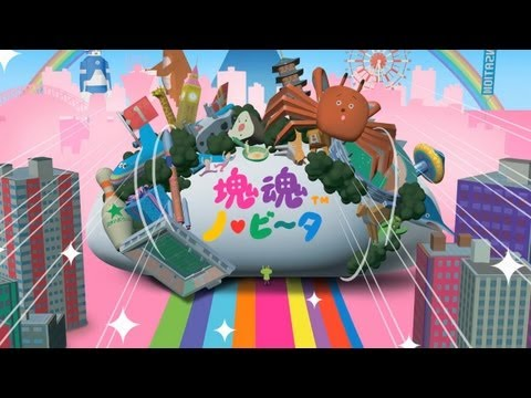 Katamari Damacy for the PlayStation Vita Has Squeezing and Stretching