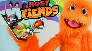 Worlds Largest Best Fiends Asteroid Surprise! Android Games for Kids 2016 Forever Trailer & Tips