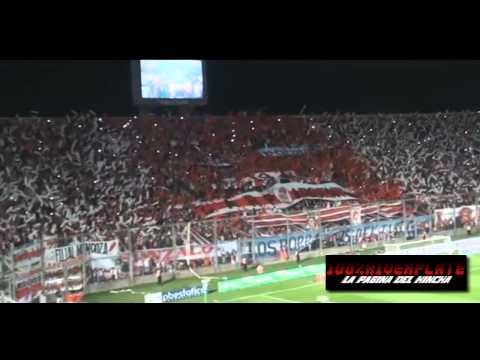 Video - Espectacular Recibimiento | River Plate Vs Huracan - Los Borrachos del Tablón - River Plate - Argentina