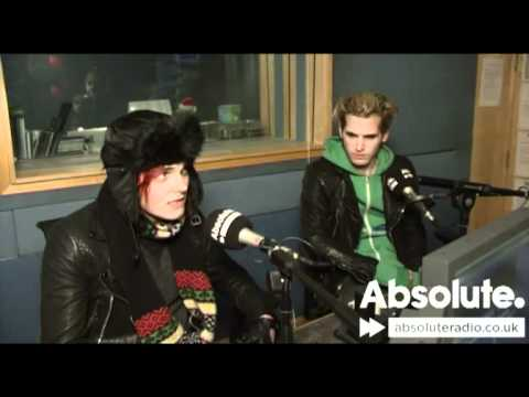 Entrevista a Gerard y Mikey Way en Absolute Radio x)