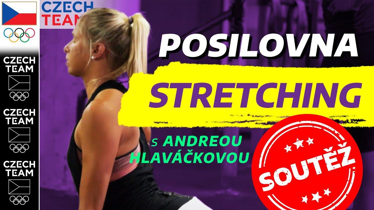 Poctivý STRETCHING & SOUTĚŽ | Cvičení s Andreou Sestini Hlaváčkovou ep. 7