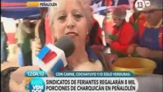 Septimo Festival del Charquican de Peñalolén Canal 13