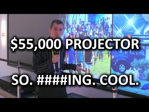 Badass Sony Projector & TV Technology. Seriously BA – CES 2015