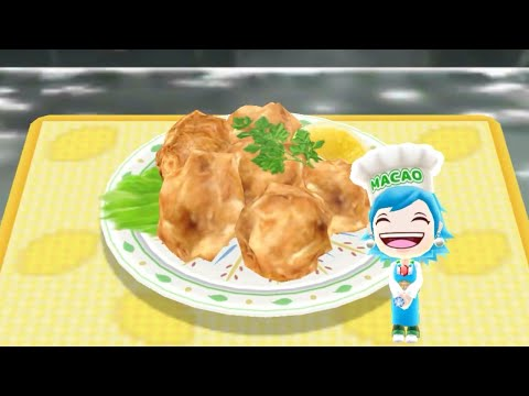 Cooking Fried Chicken - Android Gameplay - Cooking Mama Let's Cook #40 - No Commentary