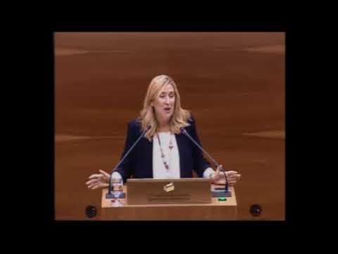Ana Beltrán en la réplica de una moción del PPN ante la pretensión de Bildu de crear la República Confederal de Euskal Herria