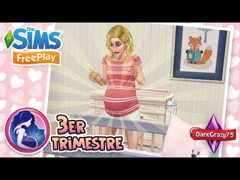 Tarjetas de amor - BABY SHOWER, PARTO Y DUDAS DE LA PRUEBA  Tutorial: 3er Trimestre  Los Sims Freeplay