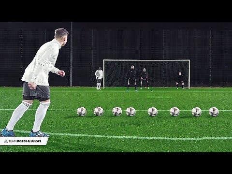 Podolski & Asamoah vs freekickerz - Football Challenge - Thời lượng: 9 phút, 47 giây.