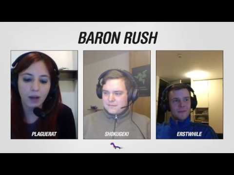 Baron Rush Ep. 1 - Nova pogovorna oddaja o League of Legends