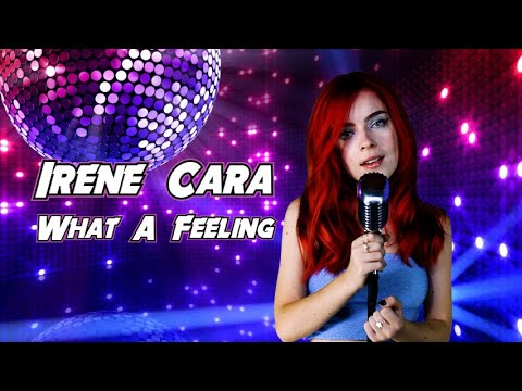 """Irene Cara  """"What A Feeling"""" Cover by Andreea Munteanu"""