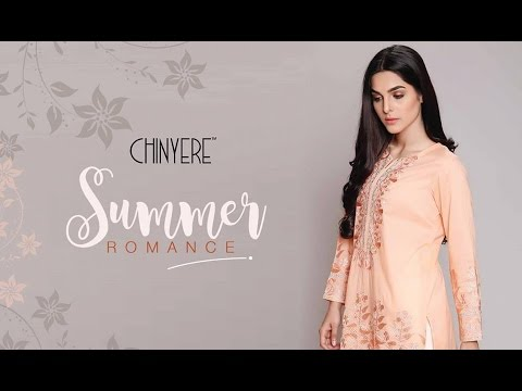 Chinyere Latest Lawn 2017 Summer Collection