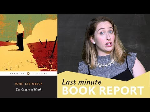 caitlin brodnick presents the grapes of wrath last minute book