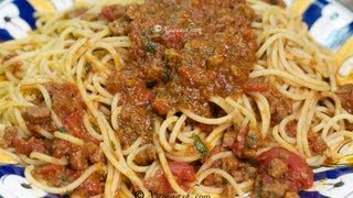Somali Pasta Sauce (Suugo Suqaar)