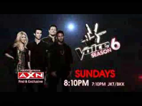 The Voice season 6 on AXN This March
