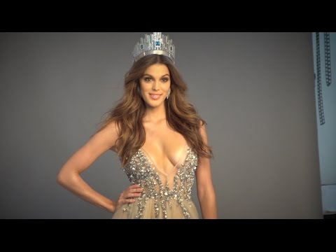 Iris Mittenaere Photoshoot with Bruce Bernard