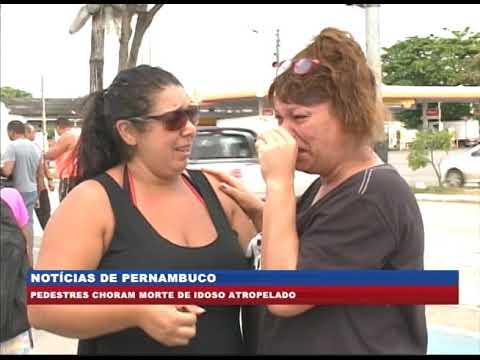 [BRASIL URGENTE PE] Pedestres choram morte de idoso atropelado