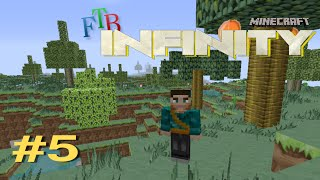 Minecraft FTB Infinity #5 | Starting Farming