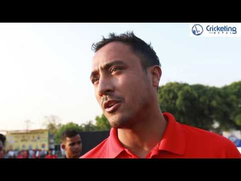 Paras Khadka after Nepal 11 VS Dhangadhi 11