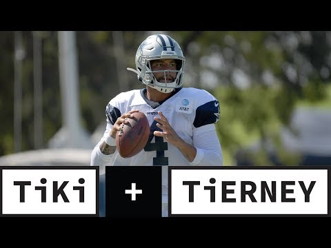 Video: The Cowboys WON'T Find A Better QB Than Dak Prescott | Tiki + Tierney