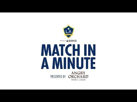 Video: Match in a Minute presented by Angry Orchard: LA Galaxy 2, Seattle Sounders FC 2