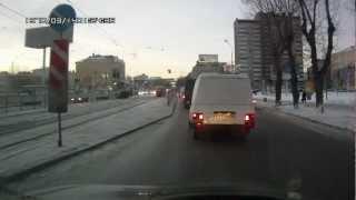 Полёт метеорита. Аsteroid rain in Russia.