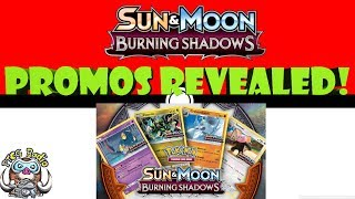 The Burning Shadows Pre-Release promos have been revealed. Let's see what they are and rank them!Twitch: twitch.tv/ptcgradioPatreon: Patreon.com/ptcgradioTwitter: twitter.com/thewossy